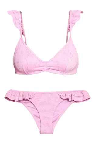 Jacquard-patterned bikini H&M