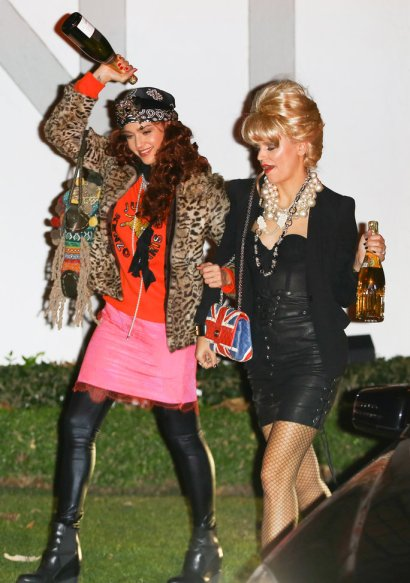 Stars arrive to Kate Hudson's Annual Halloween Party