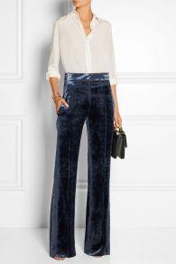 d7f687b21909165adb575f95ac06b417--velvet-flare-pants-velvet-pants-outfit